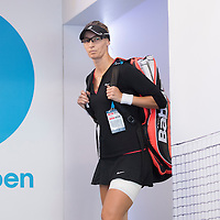 Mirjana Lucic-Baroni of Croatia on day eleven of the 2017 Australian Open at Melbourne Park on January 26, 2017 in Melbourne, Australia.<br /> (Ben Solomon/Tennis Australia)