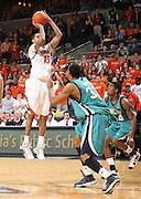 Virginia beat UNC Wilmington 69-67 Monday Jan. 18, 2010 in Charlottesville, Va. Virginia guard Sylven Landesberg (15) (Photo/The Daily Progress/Andrew Shurtleff)