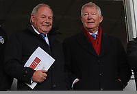 Sir Alex Ferguson (right) with Peterborough United director of football Barry Fry<br /> <br /> Photographer Kevin Barnes/CameraSport<br /> <br /> The EFL Sky Bet Championship - Blackpool v Peterborough United - Saturday 2nd November 2019 - Bloomfield Road - Blackpool<br /> <br /> World Copyright © 2019 CameraSport. All rights reserved. 43 Linden Ave. Countesthorpe. Leicester. England. LE8 5PG - Tel: +44 (0) 116 277 4147 - admin@camerasport.com - www.camerasport.com