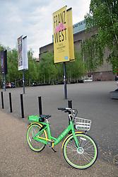 Lime-E electric assist bike hire scheme, London UK April 2019