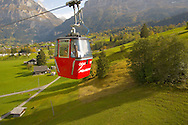 Mannlichen cable car looking towards the North Face Of The Eiger and The Jungfrau - Grindelwald Swiss Alps .<br /> <br /> Visit our SWITZERLAND  & ALPS PHOTO COLLECTIONS for more  photos  to browse of  download or buy as prints https://funkystock.photoshelter.com/gallery-collection/Pictures-Images-of-Switzerland-Photos-of-Swiss-Alps-Landmark-Sites/C0000DPgRJMSrQ3U