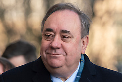 Edinburgh, Scotland, UK. 9 March, 2020.  Alex Salmond appears at High Court in Edinburgh on first day of his trial. He is accused of various sexual offences all of which he denies. Iain Masterton/Alamy Live News