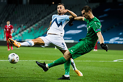 Andraz Sporar of Slovenia during the UEFA Nations League C Group 3 match between Slovenia and Moldova at Stadion Stozice, on September 6th, 2020. Photo by Grega Valancic / Sportida