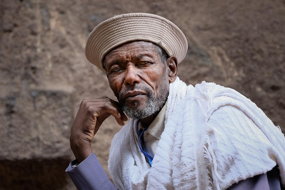 Ethiopian man from Lalibela, Ethiopia
