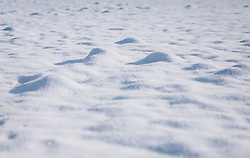 THEMENBILD - eine geschlossene Schneedecke auf einer Wiese, aufgenommen am 09. Jänner 2021 in Kaprun, Oesterreich // a closed snow cover on a meadow, in Kaprun, Austria on 2021/01/09. EXPA Pictures © 2021, PhotoCredit: EXPA/Stefanie Oberhauser