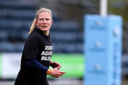 Lydia Thompson of Worcester Warriors Women warms up - Mandatory by-line: Nick Browning/JMP - 24/10/2020 - RUGBY - Sixways Stadium - Worcester, England - Worcester Warriors Women v Wasps FC Ladies - Allianz Premier 15s