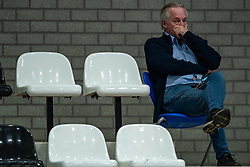 Joop Alberda during the cup final between Amysoft Lycurgus vs. Draisma Dynamo on April 18, 2021 in sports hall Alfa College in Groningen