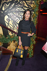 ROXIE NAFOUSI at the UK launch of WhoWhatWear UK held at Loulou's, Hertford Street, London on 24th November 2015.