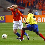 NLD/Amsterdam/20060301 - Voetbal, oefenwedstrijd Nederland - Ecuador, Martijn Meerdink