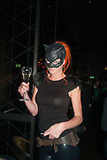 OLIVIA INGE, Yelloween, the official launch of Buddha-Bar London, in association with Veuve Clicquot.. Knightsbridge, London. 31 October 2012