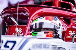 February 26, 2019 - Barcelona, Catalonia, Spain - Antonio Giovinazzi from Italy with 99 Alfa Romeo Racing portrait during the Formula 1 2019 Pre-Season Tests at Circuit de Barcelona - Catalunya in Montmelo, Spain on February 26. (Credit Image: © Xavier Bonilla/NurPhoto via ZUMA Press)