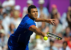 Olympic Games London 2012, men Tennis. Jo-Wilfried Tsonga (FRA).© pixathlon