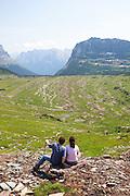 Logan Pass, Glacier National Park.