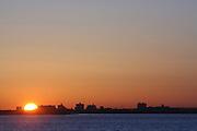 The Morning Sun in Brooklyn at Floyd Bennett Field