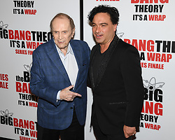 May 1, 2019 - BOB NEWHART and JOHNNY GALECKI attends The Big Bang Theory's Series Finale Party at the The Langham Huntington. (Credit Image: © Billy Bennight/ZUMA Wire)