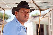 Cowboy in Gibara, Holguin, Cuba.