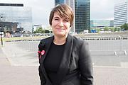 Amsterdam Diner 2019, actief een bijdrage te willen leveren aan een wereld zonder aids.<br /> <br /> Op de foto:  Lilianne Ploumen