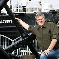 Ray Mears at RRS Discovery