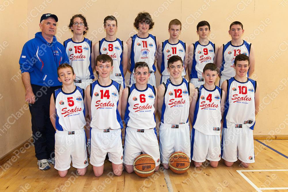 Ennistymon Cascaders Team Photograph