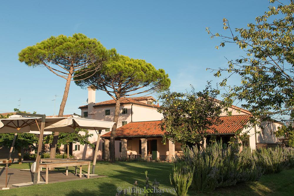 Hotel Venissa, Island of Burano, Venice, Italy, Europe