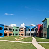 Pine Street Elementary School Rear Exterior - Conyers, GA