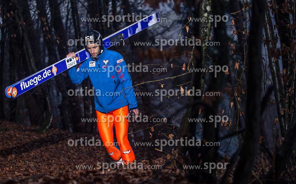 05.01.2014, Paul Ausserleitner Schanze, Bischofshofen, AUT, FIS Ski Sprung Weltcup, 62. Vierschanzentournee, Training, im Bild Wolfgang Loitzl (AUT) // Wolfgang Loitzl (AUT) during practice Jump of 62nd Four Hills Tournament of FIS Ski Jumping World Cup at the Paul Ausserleitner Schanze, Bischofshofen, Austria on 2014/01/05. EXPA Pictures © 2014, PhotoCredit: EXPA/ JFK