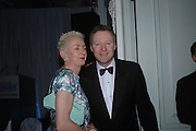 Muriel Gray and Rory Bremmer. Conde Nast Traveller Tsunami Appeal dinner. Four Seasons  Hotel. Hamilton Place, London W1. 2 March 2005. ONE TIME USE ONLY - DO NOT ARCHIVE  © Copyright Photograph by Dafydd Jones 66 Stockwell Park Rd. London SW9 0DA Tel 020 7733 0108 www.dafjones.com
