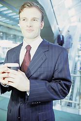Dec. 05, 2012 - Businessman in airport (Credit Image: © Image Source/ZUMAPRESS.com)