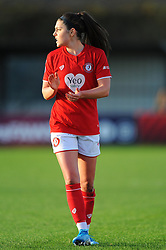 Carla Humphrey of Bristol City - Mandatory by-line: Nizaam Jones/JMP - 27/10/2019 - FOOTBALL - Stoke Gifford Stadium - Bristol, England - Bristol City Women v Tottenham Hotspur Women - Barclays FA Women's Super League