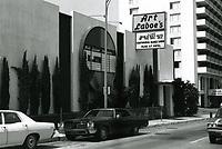 1973 Art Laboe's Nightclub on Sunset Blvd.