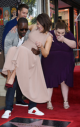 Donelle Dadigan, Mandy Moore and Rana Ghadban at the Mandy Moore Star Ceremony held on the Hollywood Walk of Fame on March 25, 2019 in Hollywood, Ca. © Janet Gough / AFF-USA.COM. 25 Mar 2019 Pictured: Justin Hartley, Mandy Moore, Sterling K. Brown and Chrissy Metz. Photo credit: Janet Gough / AFF-USA.COM / MEGA TheMegaAgency.com +1 888 505 6342