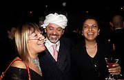 party given by Daphne Guinness for Christian Louboutin  after the opening of his new shopt.  Baglione Hotel. 16 March 2004.  ONE TIME USE ONLY - DO NOT ARCHIVE  © Copyright Photograph by Dafydd Jones 66 Stockwell Park Rd. London SW9 0DA Tel 020 7733 0108 www.dafjones.com