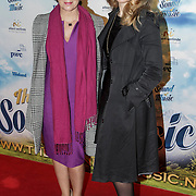 NLD/Den Bosch/20141123- Premiere Musical The Sound of Music, Janke Dekkers en dochter Amy