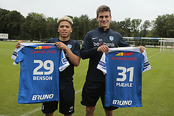 June 27, 2017 - Horst, Pays Bas - HORST, THE NETHERLANDS - JUNE 27 : Manuel Benson of KRC Genk and Joakim Maehle of KRC Genk pictured during the summer training camp of KRC Genk at the training grounds of Wittenhorst on June 27, 2017 in Horst The Netherlands , 27/06/17 (Credit Image: © Panoramic via ZUMA Press)