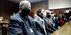South Africa – Bloemfontein – Free State fraud case- 02 October 2020. ANC supporters are bussed in to demonstrate outside the Bloemfontein Magistrates court. Seven suspects appears at the court  facing fraud and corruption charges on the 2014 Asbestos roof removal project. Picture: Timothy Bernard/African news Agency(ANA)