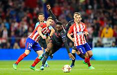 Atletico Madrid v Arsenal 3 May 2018