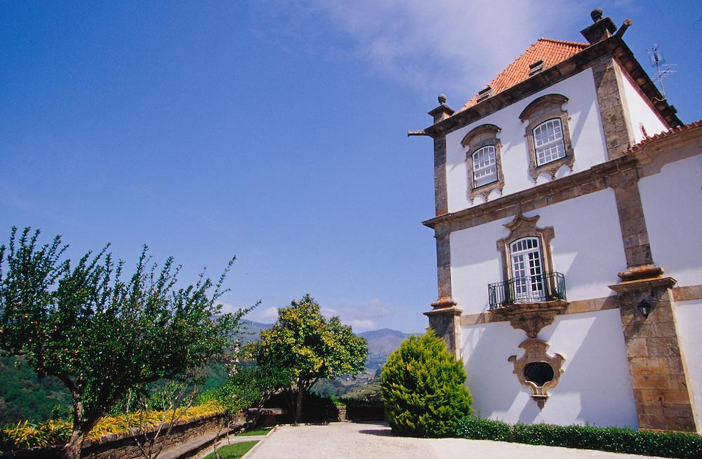 EU, Portugal, Douro River Valley, Oliveira. Casa das Torres de Oliveira, historic manor house (18th c.) that is now a hotel (PR).