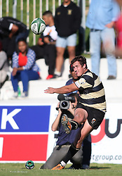 Theuns Kotze of Boland kicks a conversion during the Currie Cup premier division match between the Boland Cavaliers and The Pumas held at Boland Stadium, Wellington, South Africa on the 2nd September 2016<br /> <br /> Photo by:   Shaun Roy/ Real Time Images