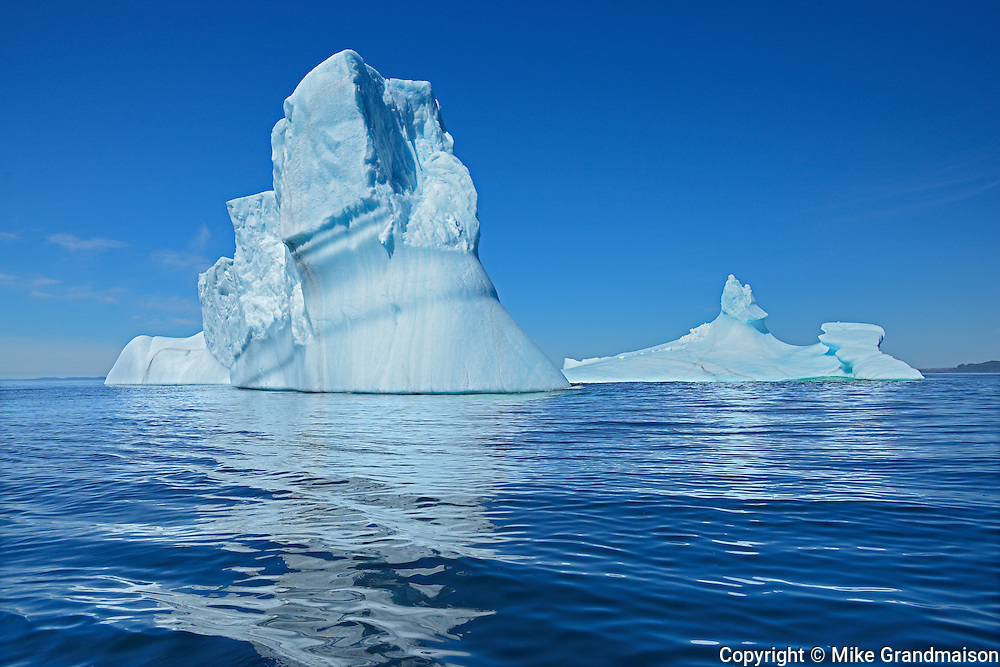 Iceberg in Atlantic Ocean<br />St. Anthony<br />Newfoundland & Labrador<br />Canada