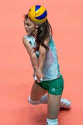 29-05-2019 NED: Volleyball Nations League Netherlands - Bulgaria, Apeldoorn<br /> Nasya Dimitrova #2 of Bulgaria