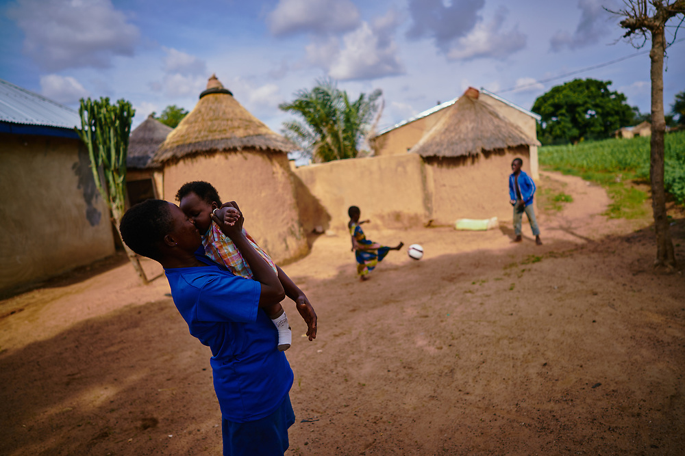 7/16/19 /2019 / Kpatia / Ghana: For the past five years, Oxfam has been absent in Kpatia and Tambalug (2 communities in Garu Tempane District of the Upper East Region of Ghana).  This project is a visual documentary study on the impact of climate change on these farming communities, in the absence of fresh aid.