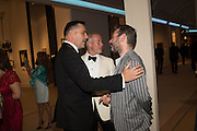 ROLAND MOURET; ASHLEY HAYES; MAT COLLISHAW, The Neo Romantic Art Gala in aid of the NSPCC. Masterpiece. Chelsea. London.  30 June 2015