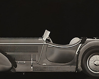 "The Mercedes-Benz SSK (W06) is a roadster built by German automobile manufacturer Mercedes-Benz between 1928 and 1932. The name is an abbreviation of Super Sport Kurz, German for ""Super Sport Short"", as it was a short wheelbase development of the Mercedes-Benz Modell S. The SSK's extreme performance and numerous competitive successes made it one of the most highly regarded sports cars of its era. –<br />
