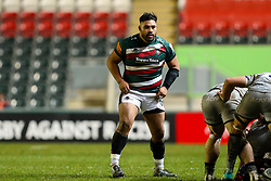 Nephi Leatigaga of Leicester Tigers  - Mandatory by-line: Nick Browning/JMP - 29/01/2021 - RUGBY - Mattioli Woods Welford Road - Leicester, England - Leicester Tigers v Sale Sharks - Gallagher Premiership Rugby