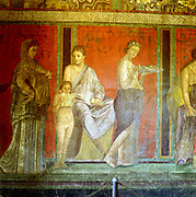 Wall painting from Pompeii. 1st century AD.