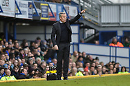 Portsmouth Manager, Kenny Jackett on the side lines  during the EFL Sky Bet League 1 match between Portsmouth and Northampton Town at Fratton Park, Portsmouth, England on 30 December 2017. Photo by Adam Rivers.