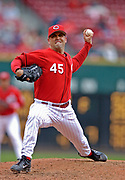 May 14, 2006, Cincinnati, Ohio, USA;  Cincinnati Reds  pitcher Chris Hammond delivers a pitch to the plate in his one inning of work against the Philadelphia Phillies.  Hammond gave up one earned run in the ninth inning to take the loss as the Phillies defeated the Reds 2-1 at Great American Ballpark.