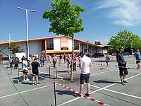 B&Q southampton reopens  by Michael Palmer