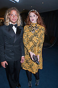 LUKE DAY; DANIELLE EMMERSON, 2012 GQ Men of the Year Awards,  Royal Opera House. Covent Garden, London.  3 September 2012