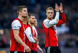 25-02-2017 NED: Feyenoord - PSV, Rotterdam<br /> 24e speelronde van seizoen 2016-2017, De Kuip / Nicolai Jorgensen #9
